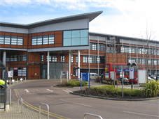 Exterior of the front of Princess Royal University Hospital
