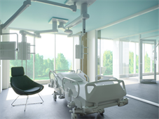 Artist's impression of new critical care centre