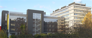 Artist's impression of exterior of King's Critical Care Centre
