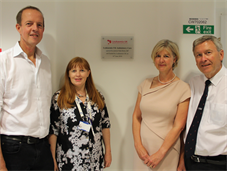 Nick Boles MP, Dr Victoria Potter, Angela Smith-Morgan & Andrew Lodge
