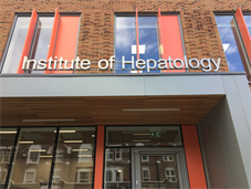 Exterior of the Institute of Hepatology