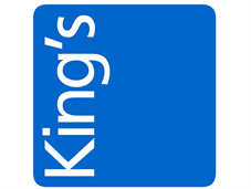 King's blue box logo