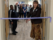 Teresa Pearce MP officially opens the new renal dialysis unit in Thamesmead