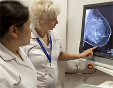 Breast radiology training