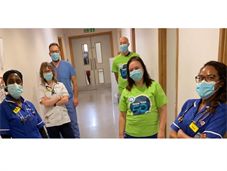 Some members of the Integrated Respiratory Team