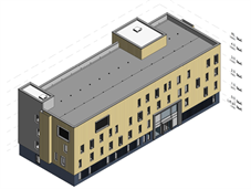 Architect's drawing of new King's College Hospital Building Aug 21