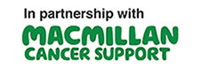 In partnership with Macmillan logo