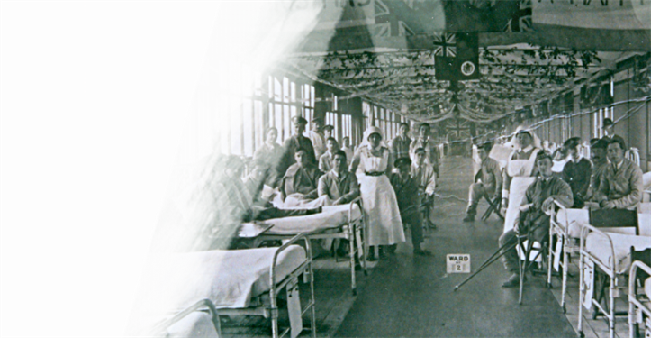 King's Ward during WWI
