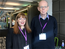 Dr Victoria Potter and Mike Simpson